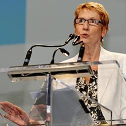 """Susan Hopgood: """"Las políticas neoliberales no deben ser la norma"""""""