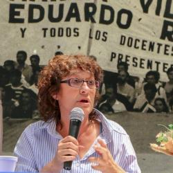Sonia Alesso, Secretaria General de CTERA - Argentina.