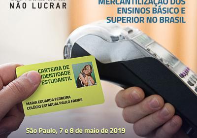 Seminario Educar No lucrar Brasil