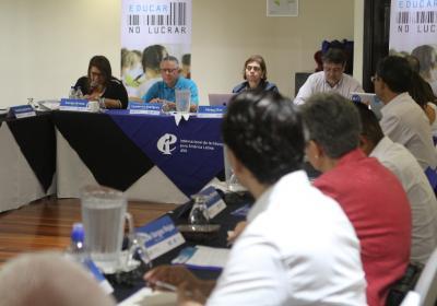 Encuentro latinoamericano 'Educar, no lucrar'